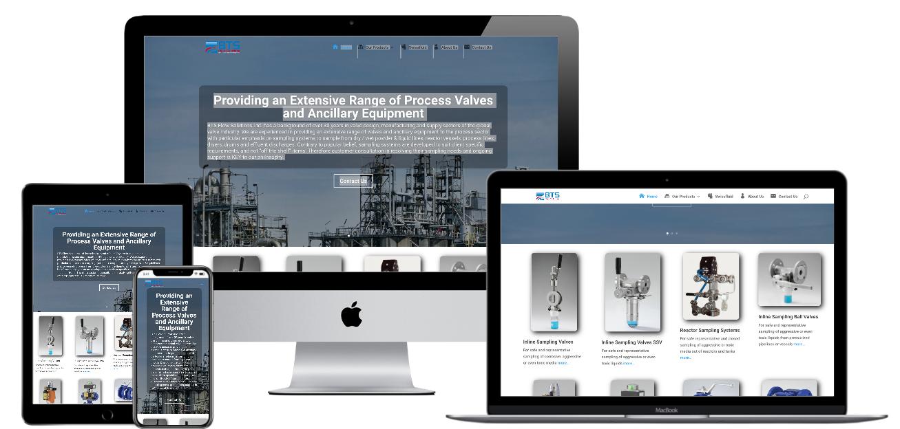 BTSFlow website images designed by Onne