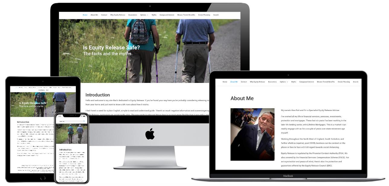 IERS Website design image